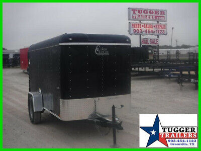 5X10 10Ft Swing Door Move Travel Camp Sport Band Utility Cargo Enclosed Trailer