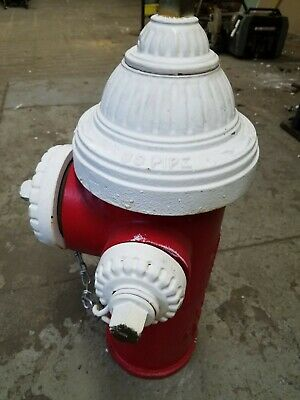 """Vintage Fire Hydrant """"Metro NY"""" RESTORED Excellent Condition!"""