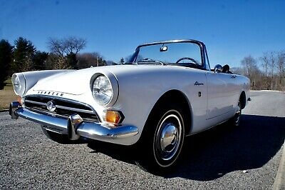 1965 Sunbeam Alpine Series IV Convertible  *RARE * AUTOMATIC *AUTOMATIC * RARE * VERY FEW BUILT ! MATCHING #S !  VALUABLE COLLECTOR CAR !
