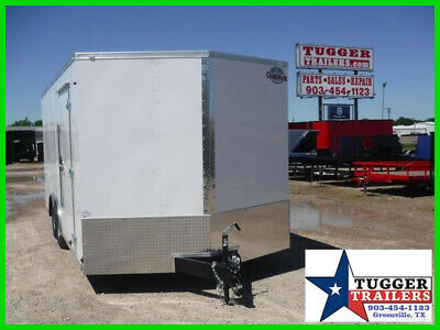 8.5X18 18Ft E-Series Move Lawn Toy Side Bike Work Cargo Enclosed Box Trailer