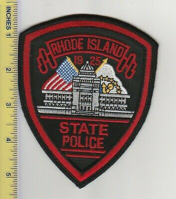 US Police Patch Rhode Island State Police