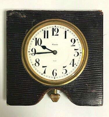 Vintage Septima Watch Co. 9031 Swiss 8 Days Traveling Clock