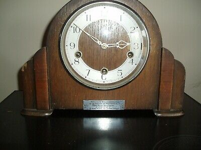 Smiths Enfield 8 Day Westminster Chime Mantle Clock in Cambridgeshire