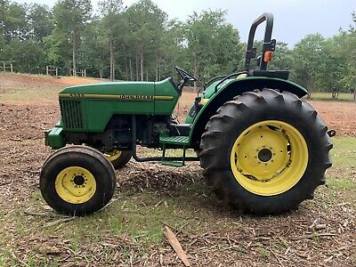 John Deere 5300 Farm Tractor with PTO 1549 Hours 1996 Great Condition