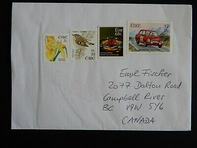Five covers (one uncancelled) all with multiple interesting stamps