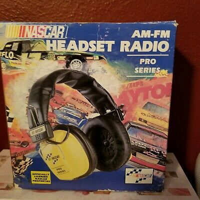 Nascar Am-fm Headset Radio