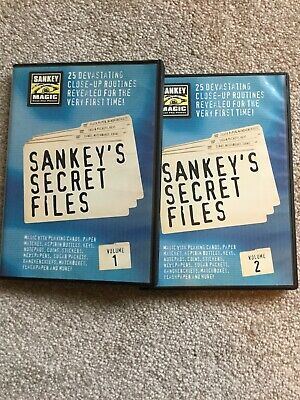 Sankey's Secret Files Vol 1&2 (magic)
