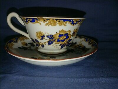 Stunning Aynsley rd 702537 cup of knowledge cup and saucer