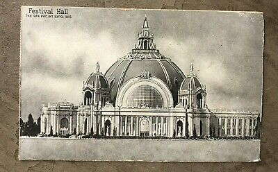 PPIE Panama Pacific Exposition Postcard Festival Hall 1915 (25)