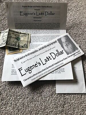 Eugene Burger's Last Dollar  (includes REAL $5.00 Gimmick)