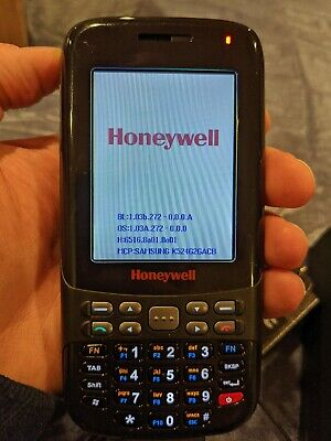 Honeywell Dolphin 6000 part number 6000LU1-GC111SE1 with cradle and charger