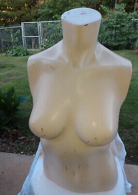 Mannequin Torso Upper Body Adult Female Cream Retail SILVESTRI California
