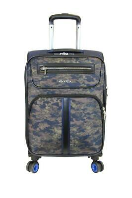 """New with Tag - $378 Robert Graham Roark 20"""" Carry-On Spinner Camo Suitcase"""