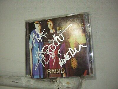 Beastie Boys Signed CD Rabid 1994 Live By 3 Musicians AD ROCK