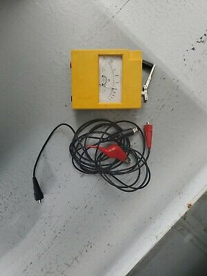 Biddle Megger Hand Crank Insulation Tester 260560 Mark IV 500 Volts
