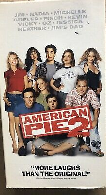 American Pie VHS Tape