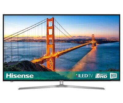 Hisense H50U7AUK 50 Inch SMART 4K Ultra HD HDR LED TV Freeview Play USB Record