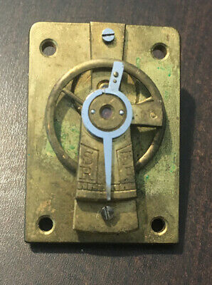 Vintage Clock Brass Balance Movement (2)
