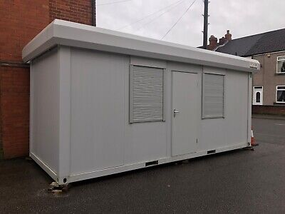 NOT AVAILABLE ATM 20' x 8' / 6m x 2.4m Anti-Vandal Open Plan Site Office Canteen