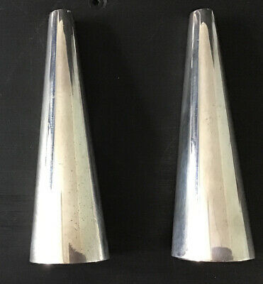 Pair Of Falstaff Silver Plated Plated Salt And Pepper.