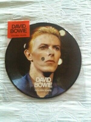 """David bowie rsd 7"""" picture -Golden Years-"""