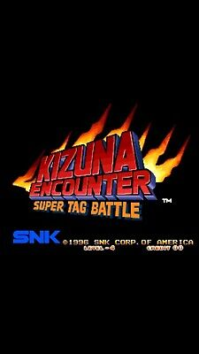 MVS NEO-GEO  KIZUNA ENCOUNTER Super Tag Battle