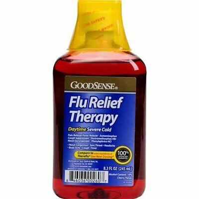 Good Sense Flu Relief Therapy Daytime Severe Cold(Pack of 12)