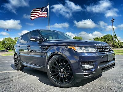 """2016 Land Rover Range Rover Sport SUPERCHARGED 22"""" AUTOBIOGRAPHY BLACK ED 2016 Blue SUPERCHARGED 22"""" AUTOBIOGRAPHY BLACK ED!"""