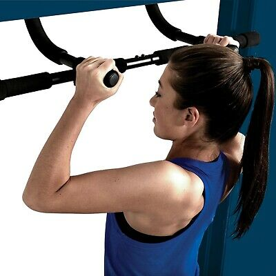 SPRI Doorway Pull Up Bar Workout Also Push Up Bar Home Gym FAST SHIPPING