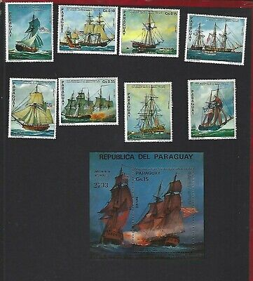 Paraguay sc#1616-24 (1975) Complete MNH