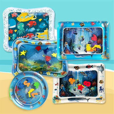 Play Baby Play Mat Cushion Baby Infant Toddlers Inflatable Water Mat Mattress