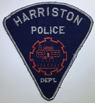 HARRISTON POLICE DEPT Ontario Canada Obsolete Patch