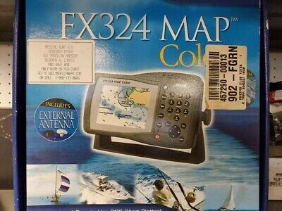 Magellan FX324 Map GPS color antenna included New
