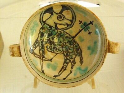 MEDIEVAL MAJOLICA BOWL, ITALY 15th. century