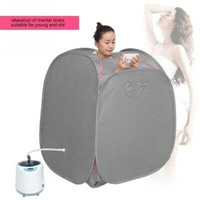 Portable Therapeutic Personal Steam Sauna Spa Room with Headcover #519