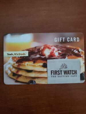 First Watch The Daytime Cafe Fresh Blueberry Pancakes Syrup 2019 Gift Card
