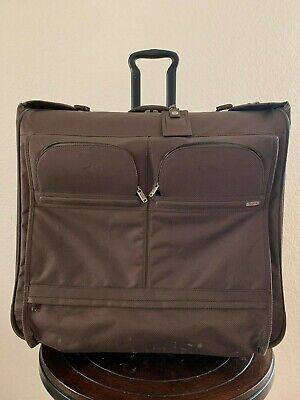 Tumi Alpha Ballistic Nylon Long Wheeled Garment Bag Luggage Travel 22032CH4
