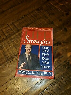 Dr Phil Megraw Life Strategies Book FREE SHIPPING CAN/USA