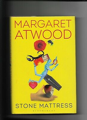Stone Mattress Hardcover Signed by Margaret Atwood Mint Canadian Author