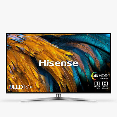 "Hisense H65U7BUK 65"" Smart 4K Ultra HD HDR LED TV Freeview Play C Grade"