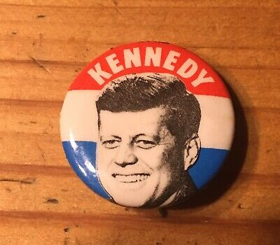 vintage President Kennedy Election PIn