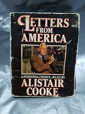 Letters From America By Alistair Cooke Audio Cassette