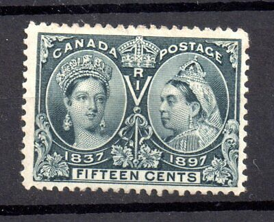 Canada QV 1897 15c Jubilee mint MH SG132 WS18024