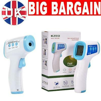 IR Infrared Digital Thermometer Termometer Forehead Baby Adult Body Non-Contact
