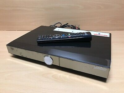 Humax DTR-T1010 500GB Youview Smart Dual Freeview+ Tuner Recorder Black Tested