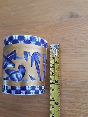 Small  Antique Coalport Bone China Hand Painted  Cup 1875-81 Printed  Stamp