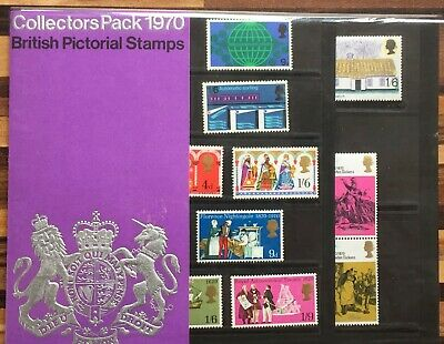 GB collectors year pack 1970