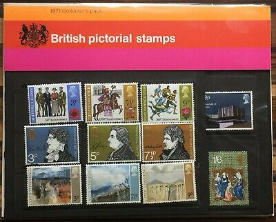 GB collectors year pack 1971