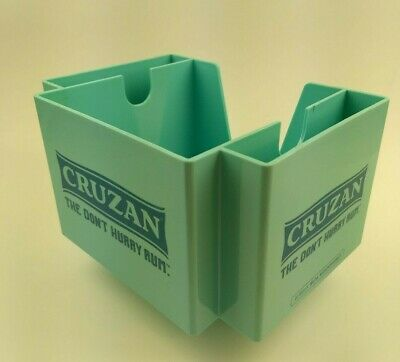 Vintage Barware Bar Napkin Holder Tray Condiment Organizer Cruzan Rum