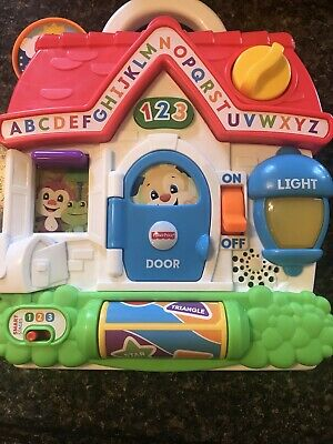 Laugh And Learn Puppys Busy Activity Home Fisher Price